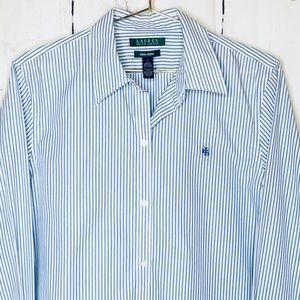 Ralph Lauren No Iron Dress Shirt L